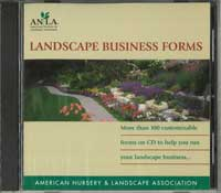Landscape business forms CD