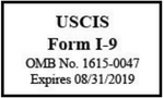 New Form I-9 released