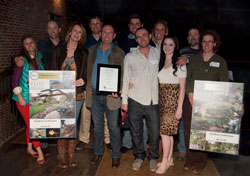 The ELITE Award for Installation/Construction was awarded to Outdoor Craftsmen for the Niwot Hill Residence