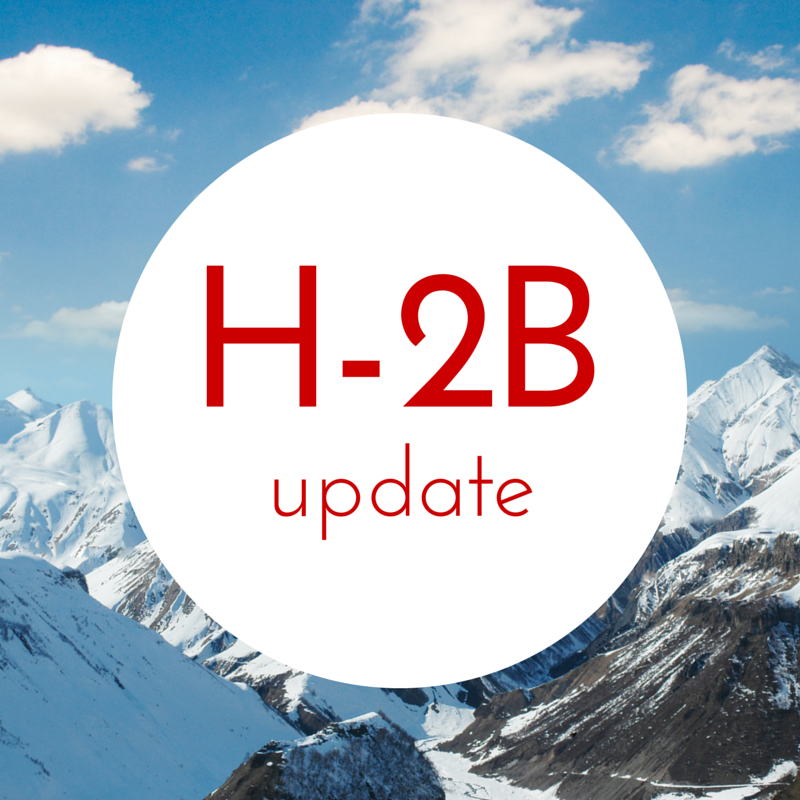 Urgent H-2B action needed